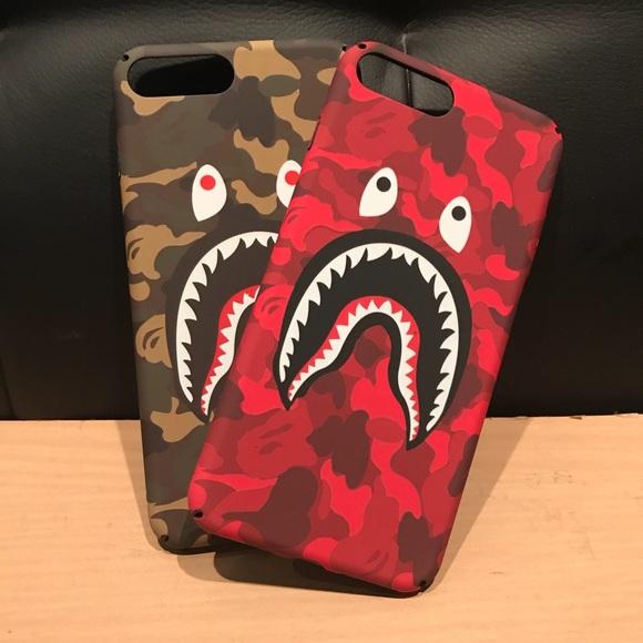 online retailer 2cf35 b059f Bape Camo Hard iPhone 7 Plus Case